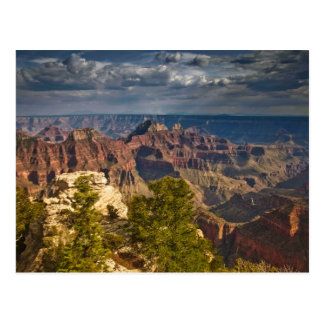 View from North Rim Visitor Center - Grand Post Cards
