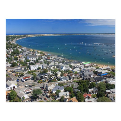 View from Pilgrim Monument Cape Cod Post Card