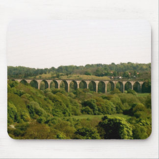 View From Pontcysyllte Aqueduct Llangollen Canal Mouse Pad
