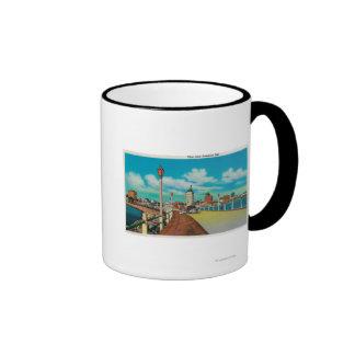 View From Rainbow Pier, Long Beach Coffee Mug
