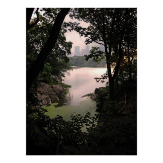 View from Ramble in Central Park Canvas Print
