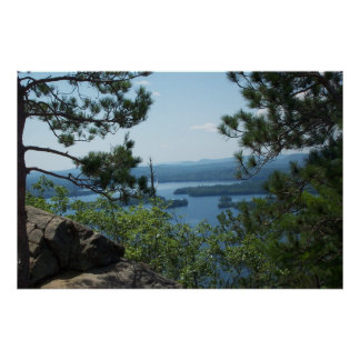 View from Rattlesnake Mountain Poster