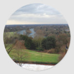 View from Richmond Hill Terrace, Surrey, England Stickers