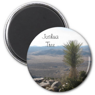 View from Ryan Mountain- Joshua Tree 2 Inch Round Magnet