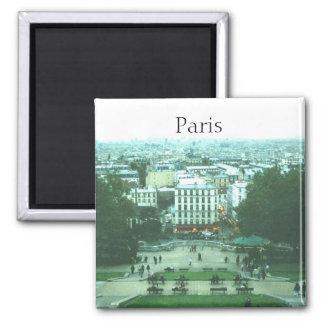 View from Sacre Coeur Paris Magnet