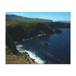 View from Santa Cruz Island in Channel Islands Canvas Print