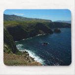 View from Santa Cruz Island in Channel Islands Mouse Pad