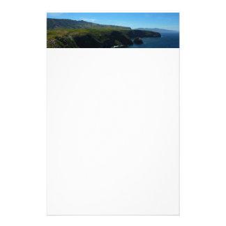 View from Santa Cruz Island in Channel Islands Stationery