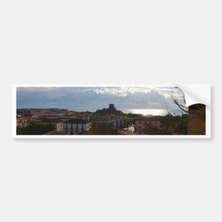 View From Scalea Car Bumper Sticker