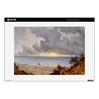 View from Shanklin, Isle of Wight, c.1827 (oil on Laptop Skins