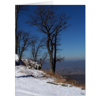 View from Skyline Drive, VA Greeting Cards