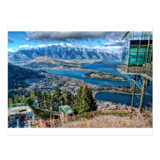 View from Skyline Gondola, Queenstown, New Zealand Postcard