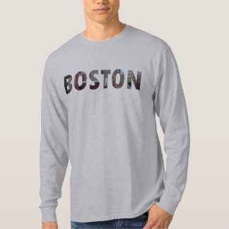 View from South Boston (in letters). T-Shirt