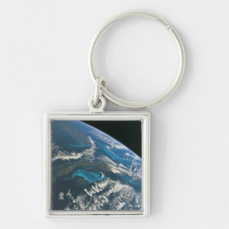 View from Space 4 Keychain