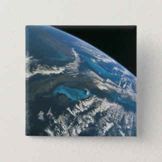 View from Space 4 Pinback Button