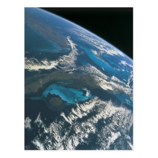 View from Space 4 Postcard
