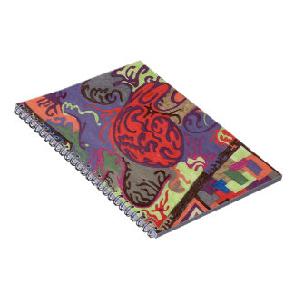 """""""View From Space Ship"""" Abstract Notebook"""