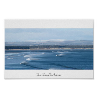 View From St Andrews Poster