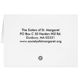 View from St. Margaret's Convent Over Duxbury Bay Card