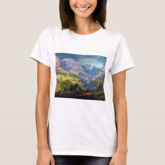 View from Stalheim by Johan Christian Dahl (1842) T-Shirt