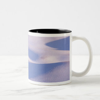 View from Steptoe Butte of rolling hills covered 2 Two-Tone Coffee Mug
