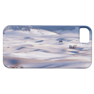 View from Steptoe Butte of rolling hills covered iPhone 5 Case