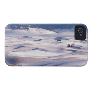 View from Steptoe Butte of rolling hills covered iPhone 4 Cover