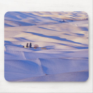 View from Steptoe Butte of rolling hills Mouse Pad