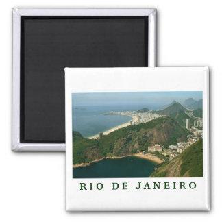 """""""View from Sugar Loaf, Rio de Janeiro"""" magnet"""