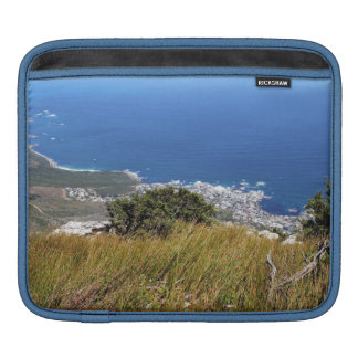 View from Table Mountain across to Camp's Bay Sleeve For iPads