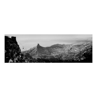 View from Table Mountain Poster