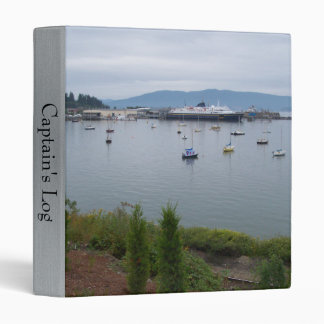 View From Taylor Street Dock 3 Ring Binder