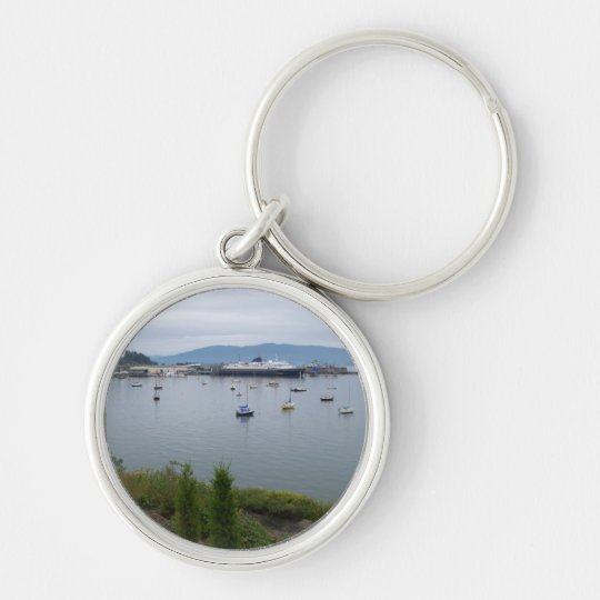 View From Taylor Street Dock Keychain