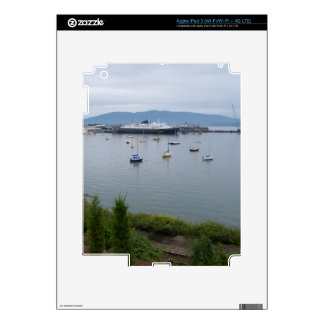 View From Taylor Street Dock Skin For iPad 3