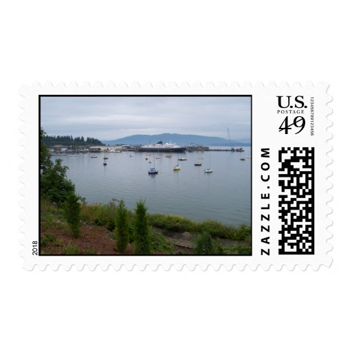 View From Taylor Street Dock Stamps