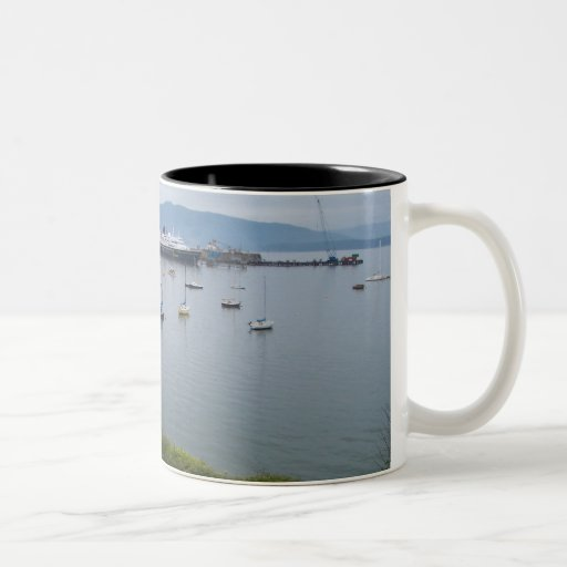 View From Taylor Street Dock Two-Tone Coffee Mug