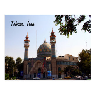 View from Tehran Post Card