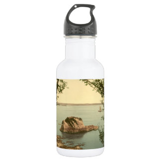View from Tenby, Pembrokeshire, Wales Stainless Steel Water Bottle