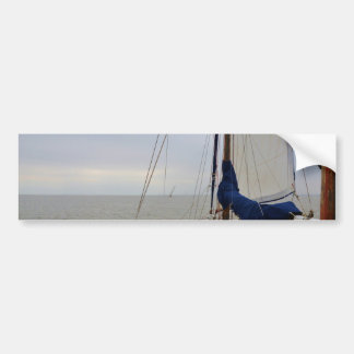 View From The Aft Deck Bumper Sticker