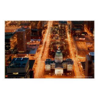 View from the Arch Poster