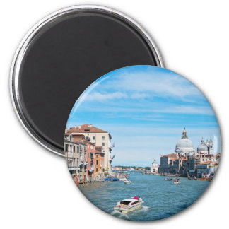 View from the bridge in Venice Magnet