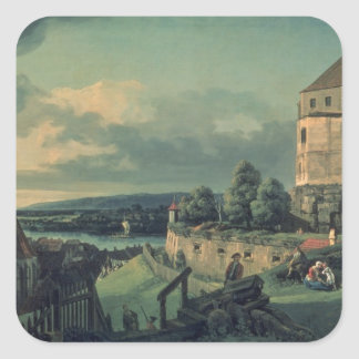 View from the Castle , 1753-55 Square Sticker
