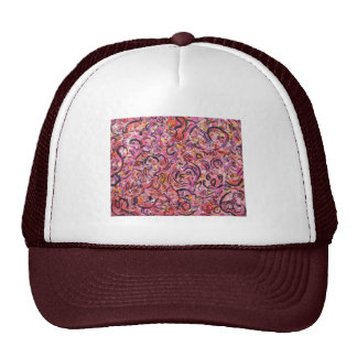 View from the Cave Gestural Abstract Trucker Hat