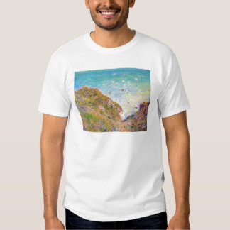 View from the Cliff at Pourville, Bright Weather T-Shirt