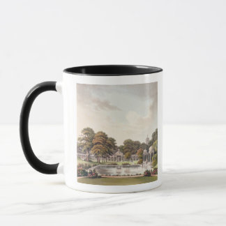 View from the dome, Brighton Pavilion, engraved by Mug