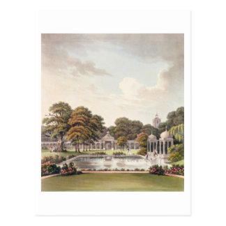 View from the dome, Brighton Pavilion, engraved by Postcard