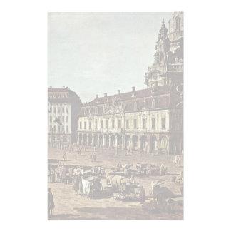 View From The Dresden Neumarkt By Moritz Street Stationery Design