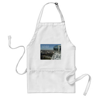 View From the Eye Adult Apron