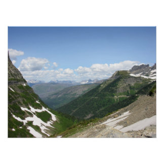 View From the Going-to-the-Sun Road Poster