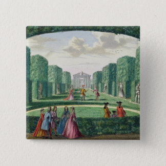 View from the green loggia to the theatre, from 'H Pinback Button